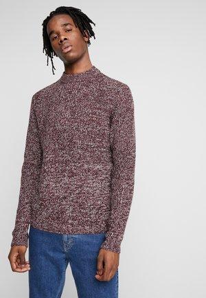 TWIST CREW - Pullover - bordeaux