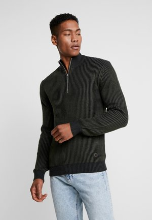 PLAITED TURTLE - Strikpullover /Striktrøjer - dark blue