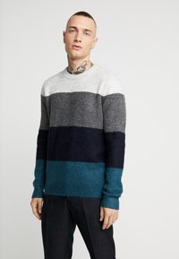 Topman - Pullover - blue - 0
