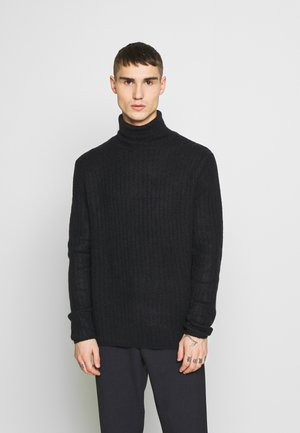 ROLL NECK - Jumper - navy