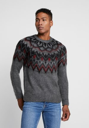 NORDIC CREW - Jumper - grey