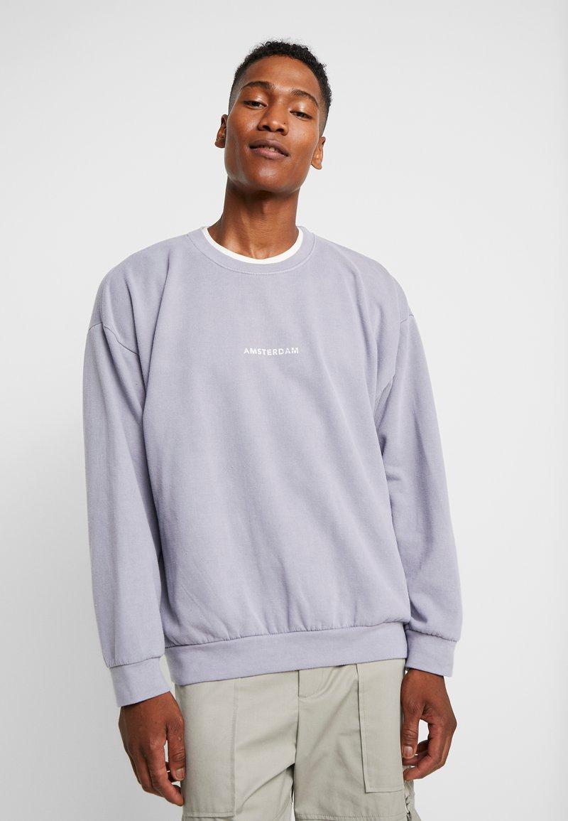 Topman - AMSTER  - Sweatshirt - grey