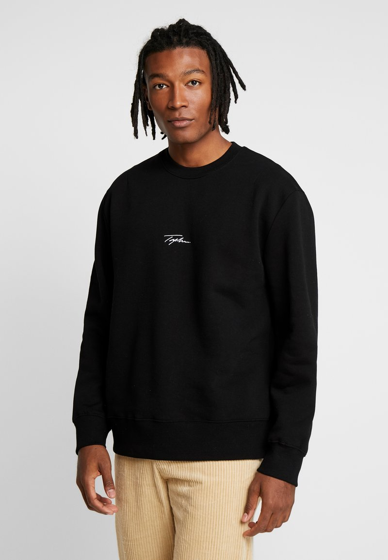 Topman - SIGNATURE - Sweatshirt - black