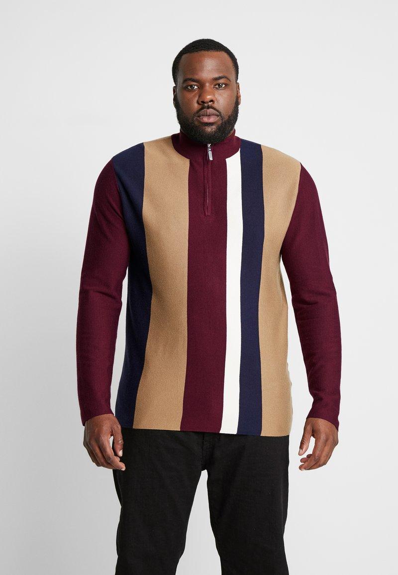 Topman - Strickpullover - multi-coloured