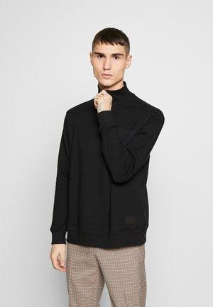 POCKET HALF ZIP - Sweater - black
