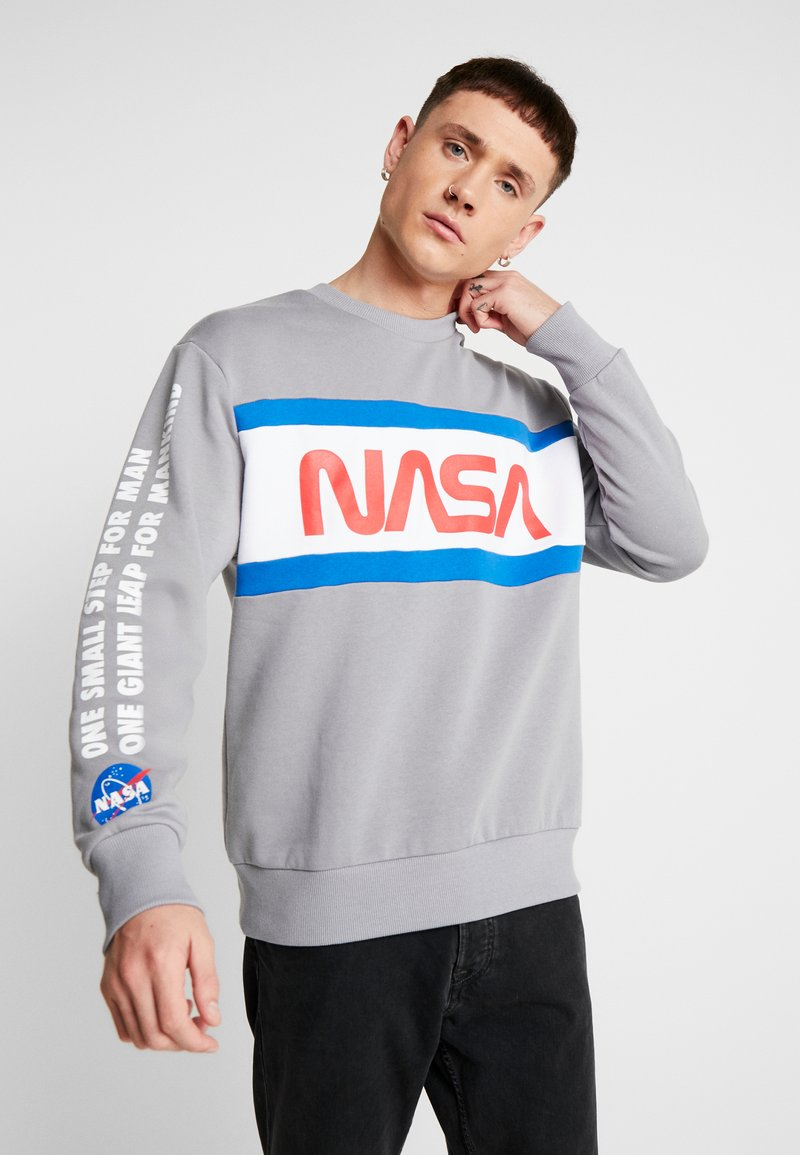 Topman - NASA LOGO - Sweater - grey