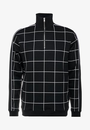 BLACKWINDOW PAIN TRACK TOP - Sweatshirt - black