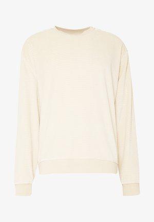 UNISEX CREW - Sweatshirt - stone