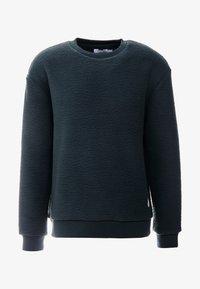 Topman - CHARCOAL BORG CREW - Fleece trui - grey - 4