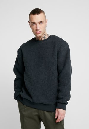 CHARCOAL BORG CREW - Sweat polaire - grey
