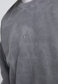 Topman - ZURICH GREY PUFF  - Sweatshirt - grey