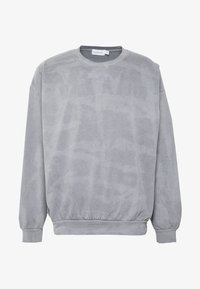 Topman - BLACK WASHED BERLIN - Sweatshirt - grey - 3