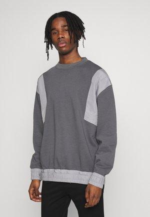 PANEL CREW - Sweatshirt - black