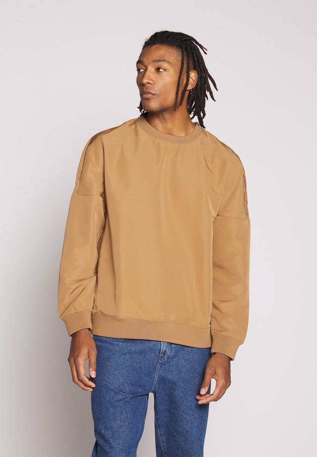 UNISEX TOBACCO FULL CREW - Felpa - brown