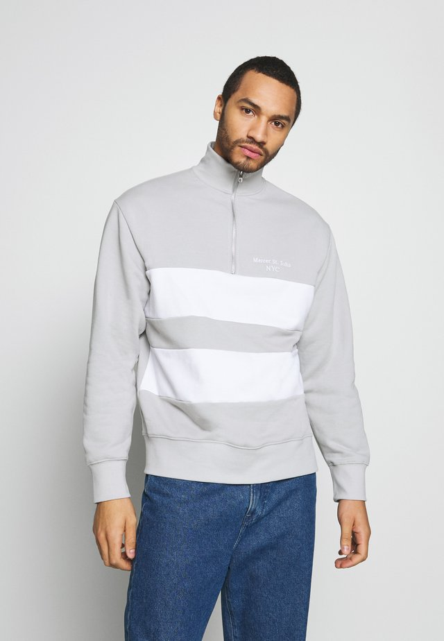 UNISEX LUCAS PANEL - Felpa - grey