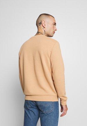 SAND OTTOMAN - Sweater - stone