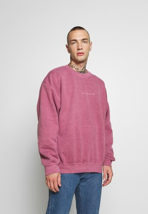 BURG WASHED STOCKHOLM  - Sweatshirt - mauve