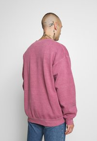 Topman - BURG WASHED STOCKHOLM  - Sweatshirt - mauve - 2