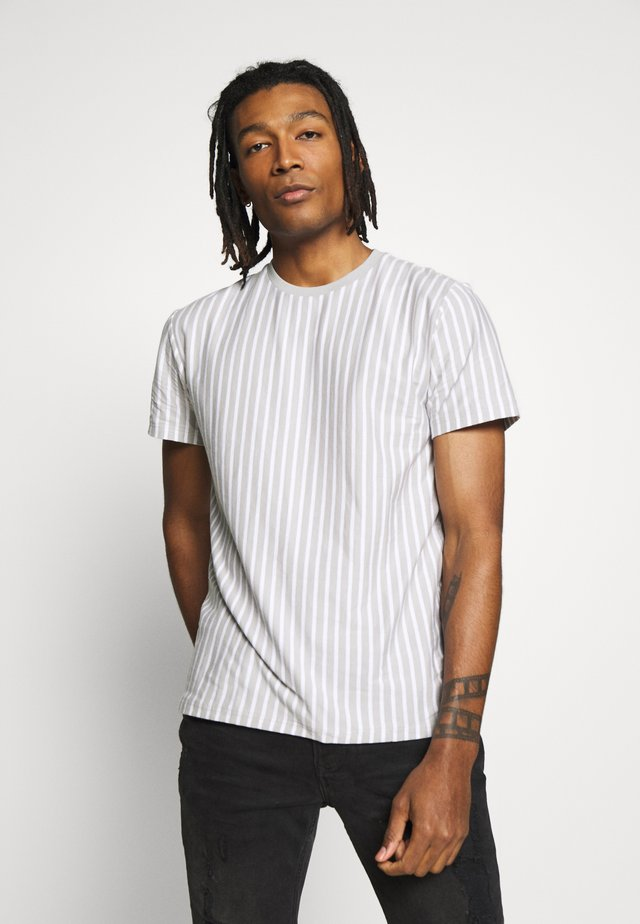 NEW VERT HARRY STRIPE - T-shirt con stampa - grey