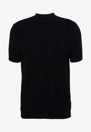 STITCH TURTLE - T-shirt con stampa - black