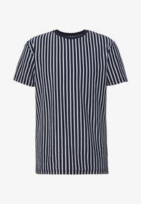 Topman - HARRY STRIPE - T-shirt con stampa - navy - 3