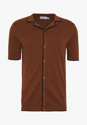 TIPPED - Chemise - brown