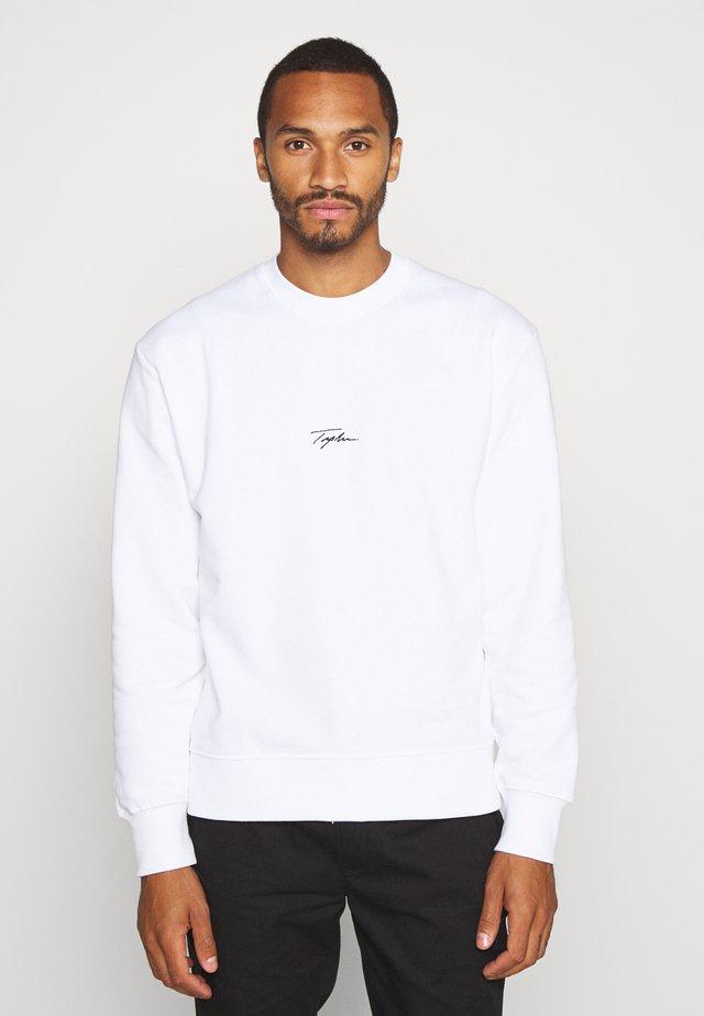 UNISEX SIGNATURE - Collegepaita - white