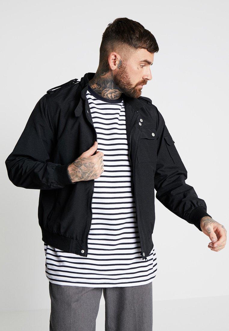Topman - SPORTS - Light jacket - black