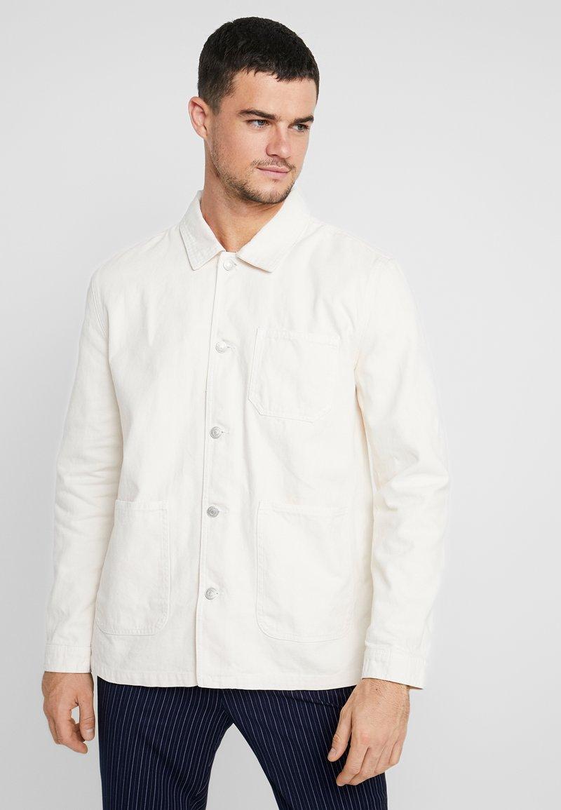 Topman - CHORE - Summer jacket - ecru