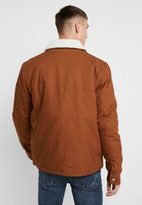 Topman - MICHIGAN COLLAR - Lehká bunda - brown - 2