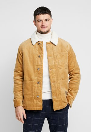 BORG CHORE - Summer jacket - tan