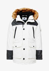 Topman - HILLSIDE - Cappotto invernale - white - 4
