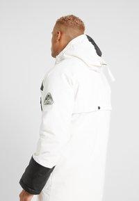 Topman - HILLSIDE - Cappotto invernale - white - 3