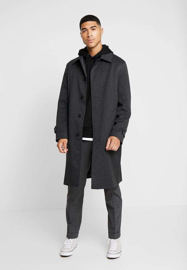 SMART PINSTRIPE - Cappotto classico - dark grey