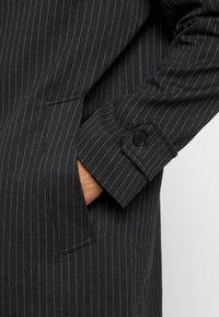 Topman - SMART PINSTRIPE - Cappotto classico - dark grey - 5