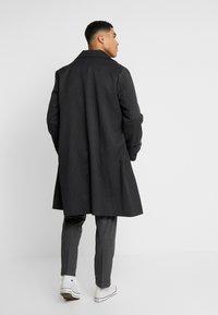 Topman - SMART PINSTRIPE - Cappotto classico - dark grey - 2