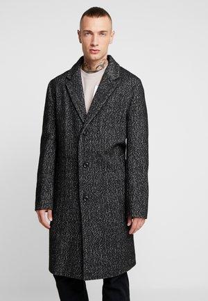 LEON HERRINGBONE - Zimní kabát - grey
