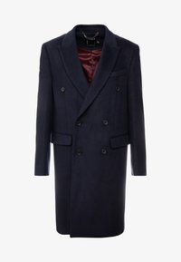 Topman - BERRY FRASER DOUBLE BREASTED - Cappotto classico - navy - 4
