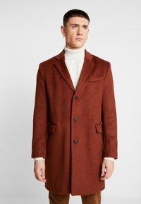Topman - SCOTT  - Classic coat - rust - 0