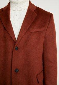 Topman - SCOTT  - Classic coat - rust - 5