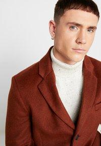Topman - SCOTT  - Classic coat - rust - 3