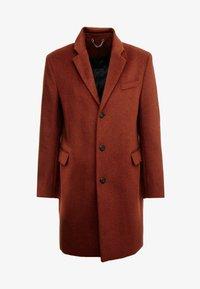 Topman - SCOTT  - Classic coat - rust - 4