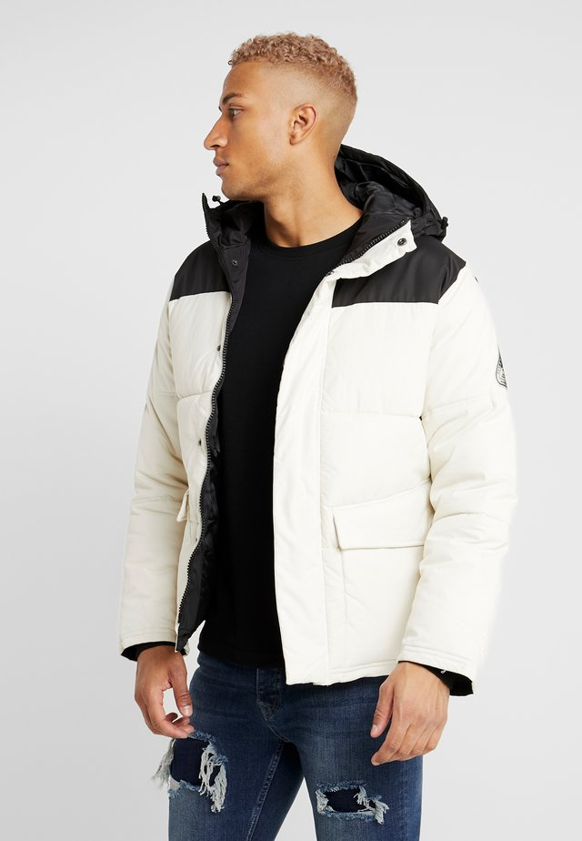 OFF SUGARLOAF PUFFER - Giacca invernale - offwhite