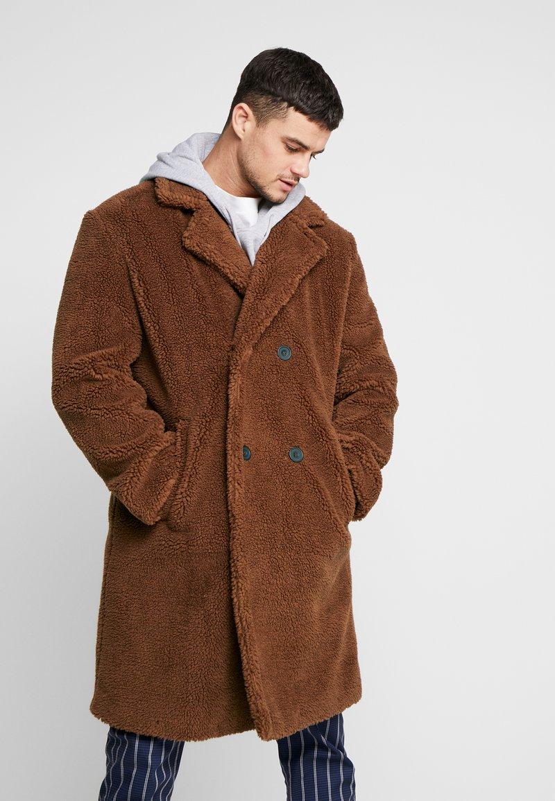 Topman - Wollmantel/klassischer Mantel - brown