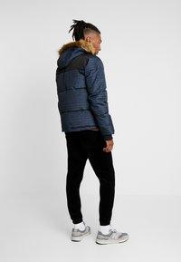 Topman - CHECK POLAR - Zimní bunda - dark blue - 2