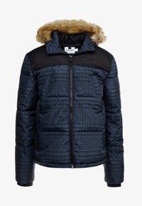 Topman - CHECK POLAR - Zimní bunda - dark blue - 5