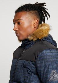 Topman - CHECK POLAR - Zimní bunda - dark blue - 4
