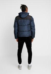 Topman - CHECK POLAR - Zimní bunda - dark blue - 3