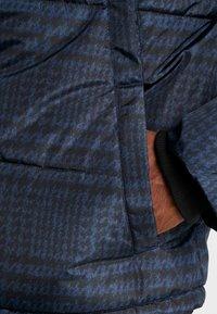 Topman - CHECK POLAR - Zimní bunda - dark blue - 6