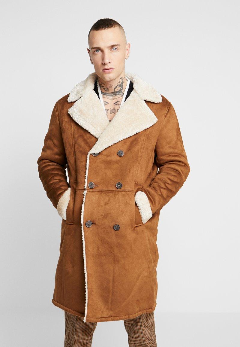 Topman - TAN REPUBLIC - Winterjas - brown